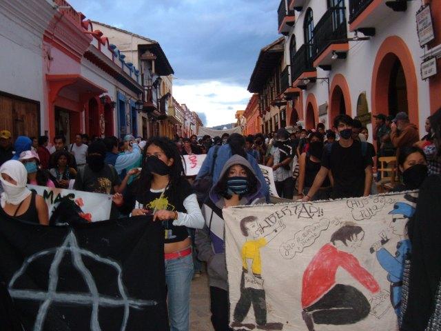 Marcha de jóvenes graffiteros/MWCHR