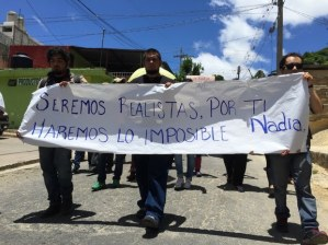 Sepultan a Nadia Vera en Comitán, Chiapas Foto: Elio Henríquez