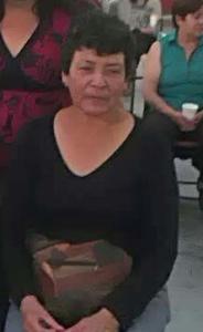 Cony Integrante del Grupo de Deudos y Defenssores por Nuestros Desaparecidos